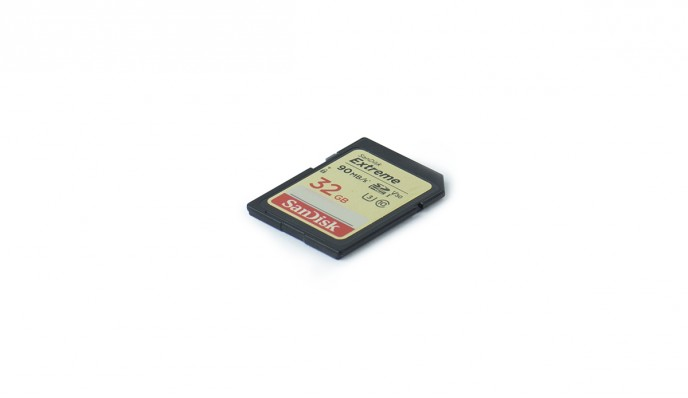 SD Card 32GB // 95MB/s // SDHC-I C10 U3
