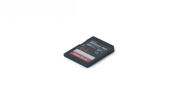 SD Card 64GB // 280MB/s // SDXC-II U3
