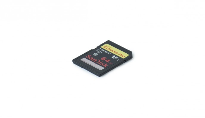SD Card 64GB // 95MB/s // SDXC-I C10 U1