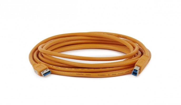 USB 3.0 (A to B) Tethering Cable 4.6m