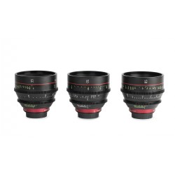 Canon CN-E kit of 3 lenses