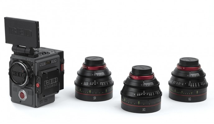 Kit Red Scarlet-W + Canon CN-E