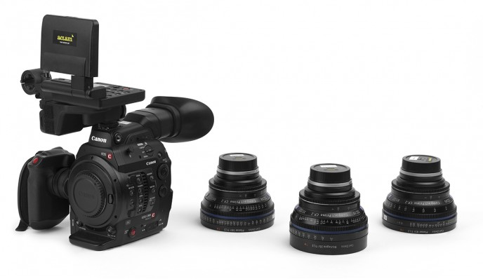 Kit EOS Canon C300 Mark II + Zeiss Compact Prime CP.2
