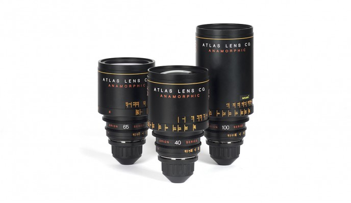 Atlas Orion // Anamorphic Lens Set // 2X