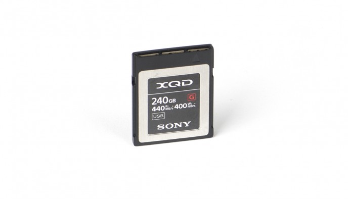 XQD Card 240GB // 400MB/s // G Series