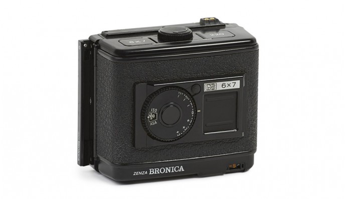 120 Film Chassis // for Bronica ETRS