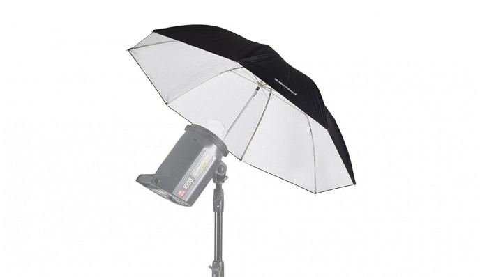 White Umbrella 85cm