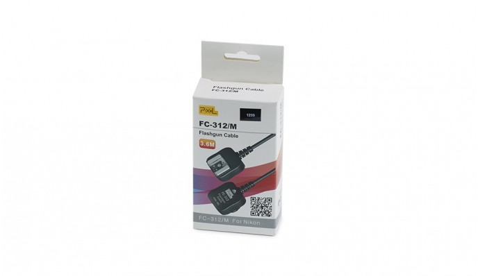 Flashgun Cable Trigger // FC-312/M for Nikon 3.6m