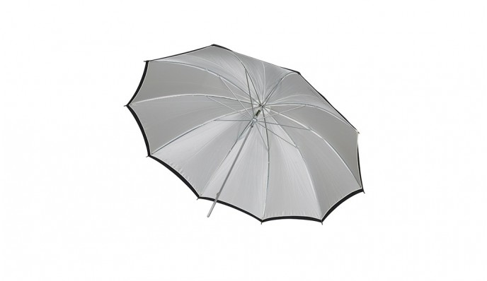 White Silver Umbrella 90cm
