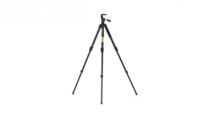 Carbon Photo Tripod A4580F with 3-Way Head HD3