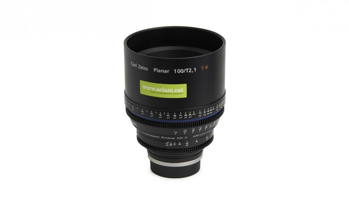 100mm / 2.1 // CF T Feet / Compact Prime CP.2 // EF