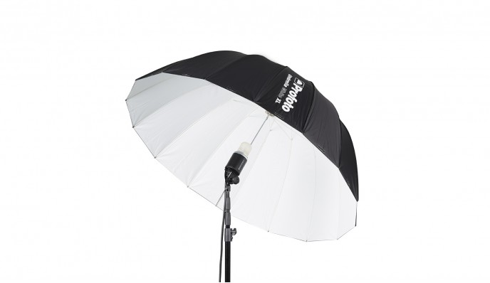White Umbrella XL (165cm)